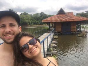 Nossos viajantes - Dani e Aline!