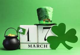 O St. Patrick's Day está chegando.. Vamos comemorar?